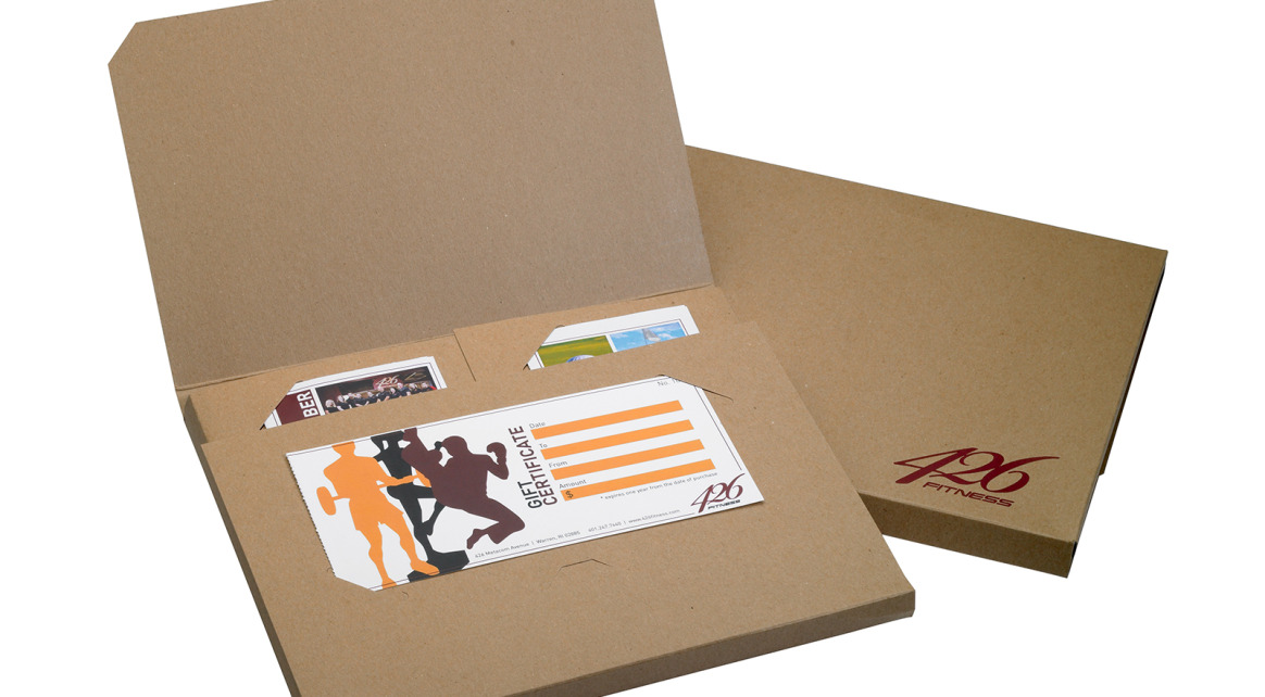Diecut Folder For 426 Fitnesss Welcome Kit By Taylor Box